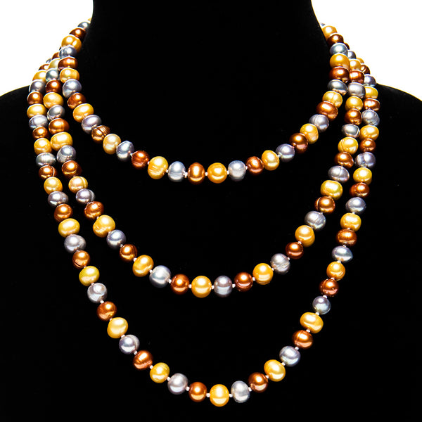 "60"" Pearl Rope Necklace"