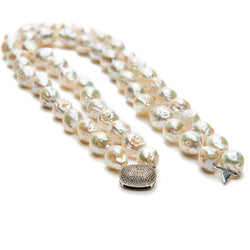 Double Strand Pearl Neklace