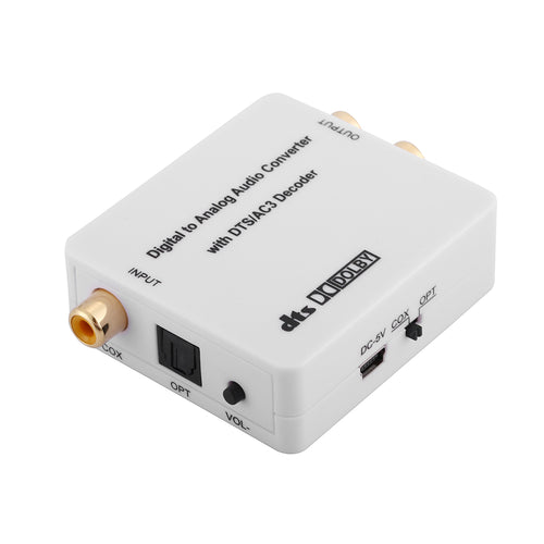 XOLORspace DU51 Digital to Analog Audio Converter With DTS/Dolby Decoder