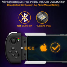 XOLORspace G02 Single-side smartphone gamepad for iOS with physical connection