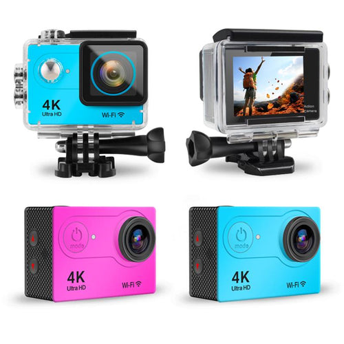 XOLORspace H9 Action Camera 16MP 1080p WiFi Underwater Photography Cameras 170 Degree Ultra Wide Angle Lens with Mounting Accessories Kits