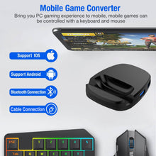 XOLORspace G03 smartphone keyboard and mouse converter for Android & iOS- cable & Bluetooth connection