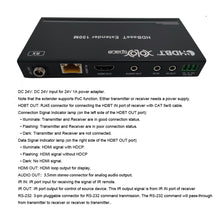 XOLORspace HT120 18Gbps 4K 60HZ 4:4:4 HDR HDMI over HDBaseT Extender up to 150m with IR