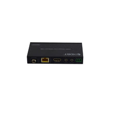 XOLORspace 86141 Transparent HDMI 2.0 extender 1x4 HDMI Splitter extender with signal no compression no loss