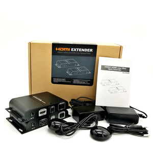 LENKENG LKV378A HDMI Extender over fiber optic up to 20km/65616ft with IR supports one-to-many