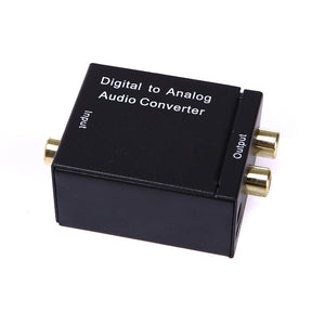 XOLORspace Digital to Analog Audio Converter Coaxial or Toslink digital audio to stereo audio