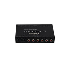 XOLORspace DJ51 Multi-channel Digital Audio Decoder SPDIF Coaxial support DTS/AC3 /optical audio converter 5.1 decoder