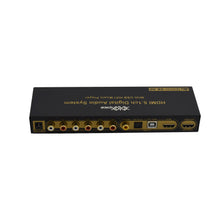 XOLORspace DU50 HDMI/ARC/COAXIAL/OPTICAL/USB to 5.1 audio decoder system with remote control