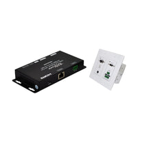 XOLORspace HT001-W HDbaseT Wall-plate HDMI extender over CAT5/6 up to 40m at 4K 60HZ 4:4:4 HDR