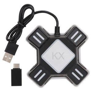 XOLORspace X012 Keyboard and Mouse Adapter for PS4, Xbox One, Switch, PS3