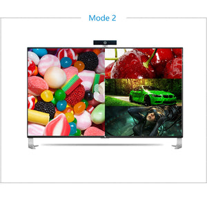 XOLORspace TW02 1080p HDMI 4x1 quad multi-viewer with 5 modes display seamless switching