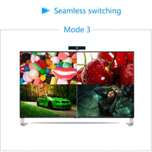 XOLORspace TW02 1080p HDMI 4x1 quad multi-viewer with 5 modes display seamless switching (5pcs HDMI cables Pack)