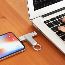 XOLORspace X12 USB Flash Drive Photo Stick for iPhone 11 Pro XR X XS MAX iPhone 6/7/8 Plus and ipad Air/Mini,New ipad pro,External Storage for iOS System