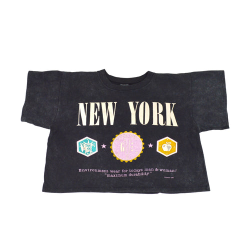 New York Crop Tee