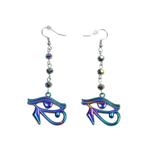 Teardrop Eye Of Ra Earrings
