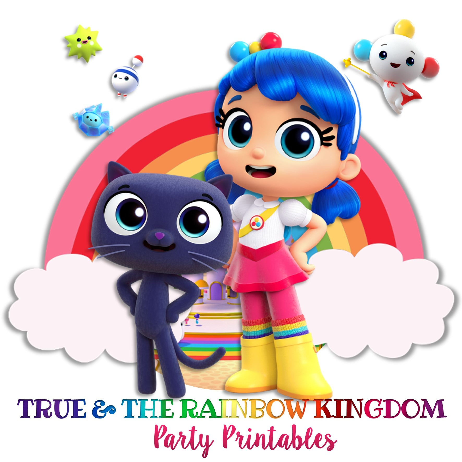 TRUE AND THE RAINBOW KINGDOM INSPIRATION