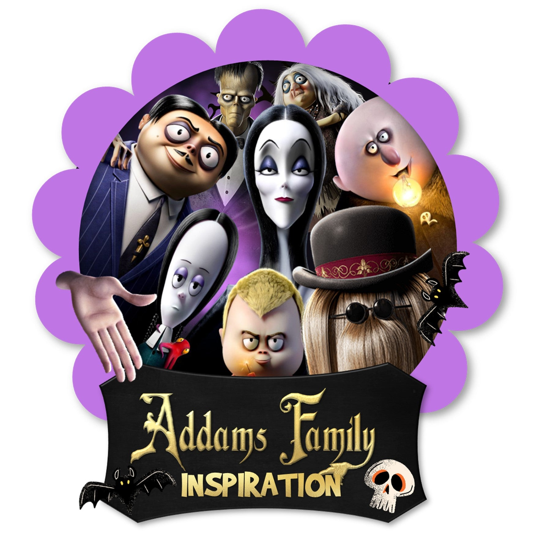 FAMILY ADDAMS INSPIRATION
