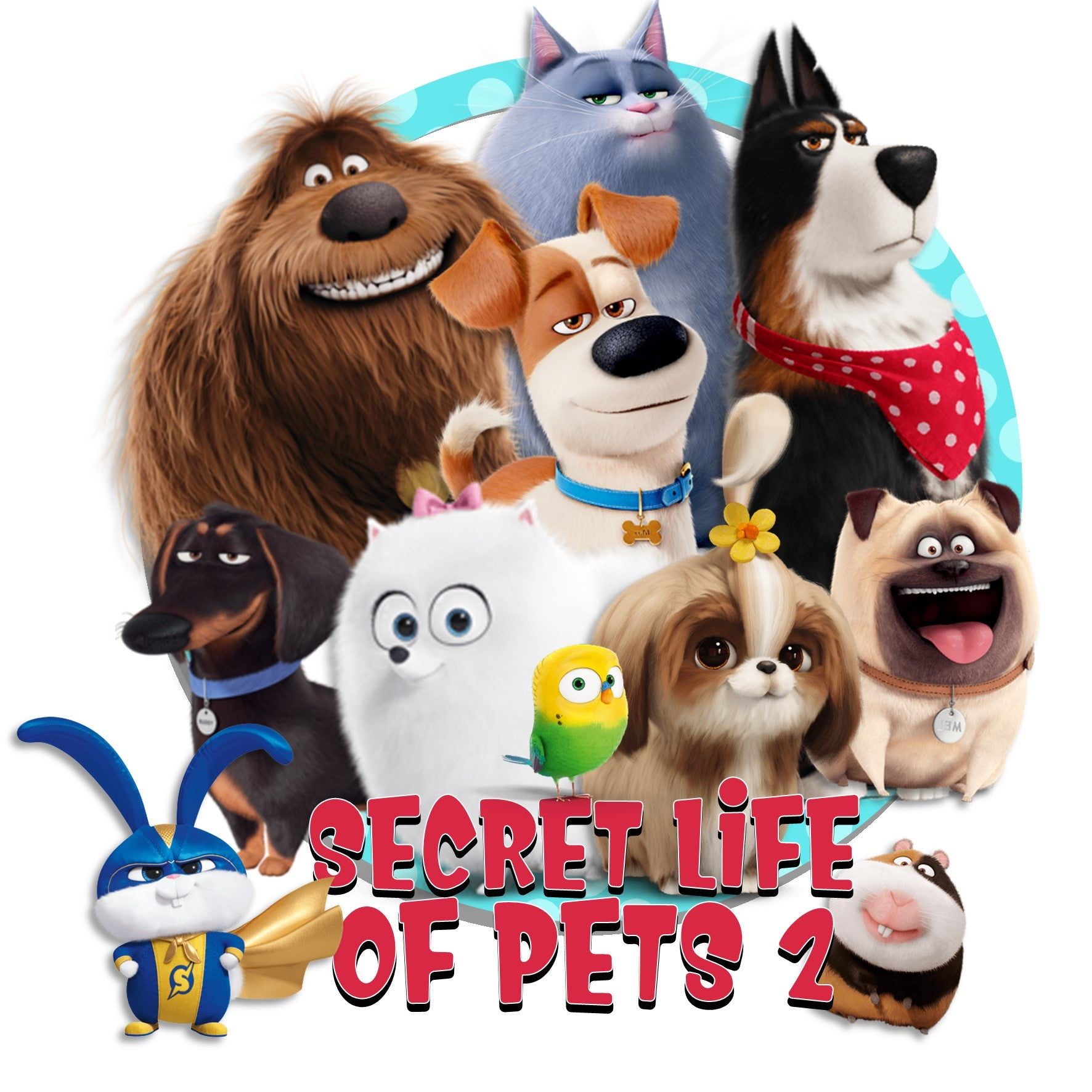 Secret Life Of Pets 2 INSPIRATION