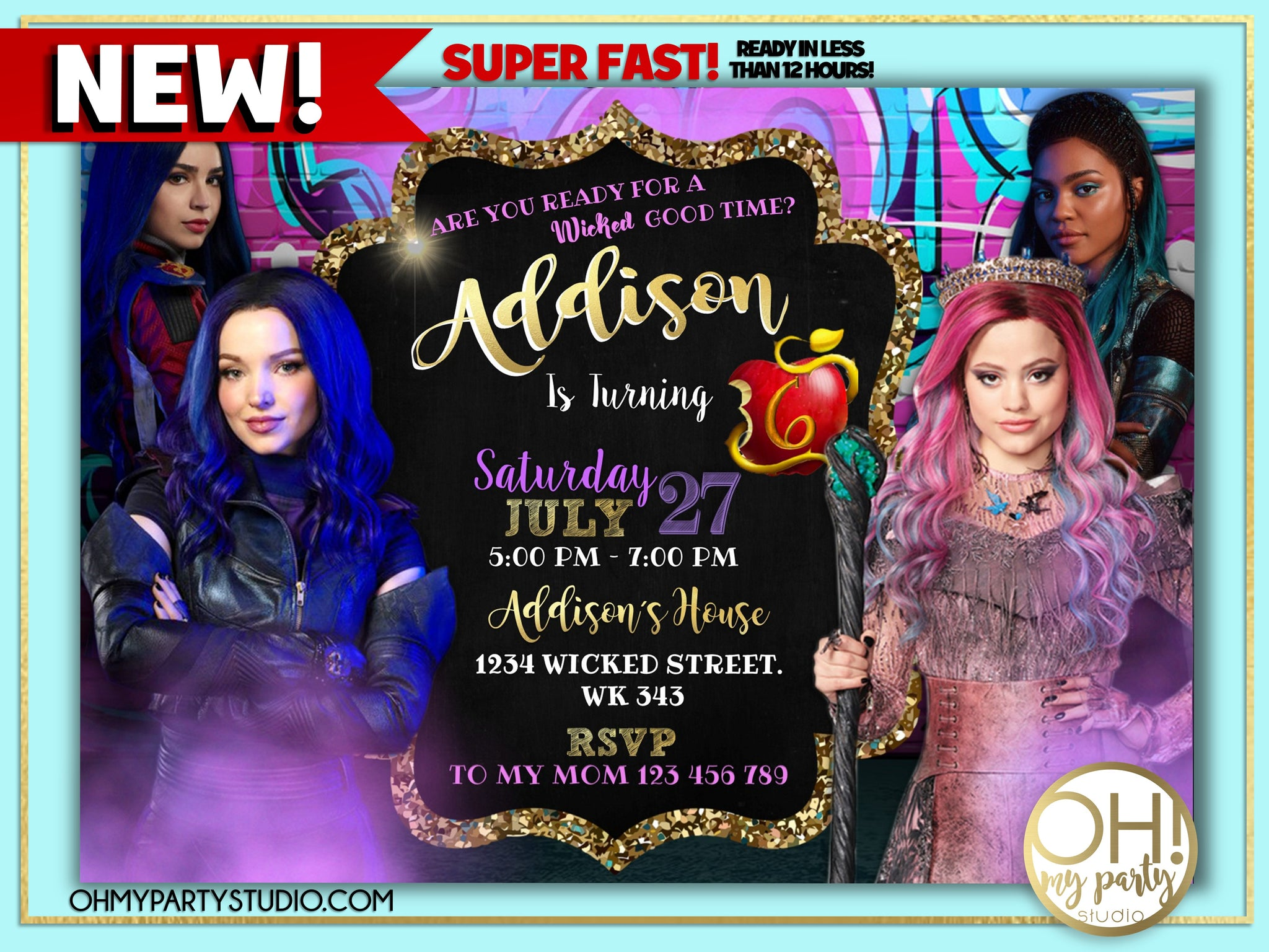 DESCENDANTS 3 BIRTHDAY PARTY INVITATION, DESCENDANTS 3 PARTY, DESCENDANTS 3 INVITATION, DESCENDANTS 3 INVITATIONS, DESCENDANTS 3 PARTY IDEAS, DESCENDANTS 3 BIRTHDAY, DESCENDANTS 3 INVITE, DESCENDANTS 3 CARD, DESCENDANTS 3 PARTY PRINTABLES, DESCENDANTS 3 BIRTHDAY PARTY