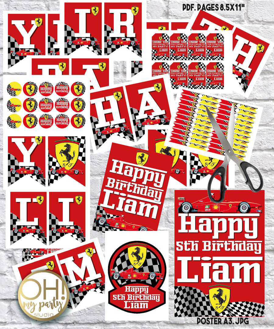 FERRARI PARTY DECORATIONS, FERRARI PARTY PRINTABLES, FERRARI BIRTHDAY PARTY DECORATIONS, FERRARI PARTY IDEAS, FERRARI BIRTHDAY PARTY IDEAS, FERRARI BIRTHDAY, FERRARI PARTY, FERRARI PARTY SUPPLIES, FERRARI CAKE, FERRARI BANNER, FERRARI THANK YOU TAGS, FERRARI BIRTHDAY PARTY, FERRARI BIRTHDAY CAKE, FERRARI BIRTHDAY CAKE, FERRARI BIRTHDAY PARTY IDEAS, FERRARI BIRTHDAY PARTY BOYS, FERRARI BIRTHDAY PARTY PRINTABLES