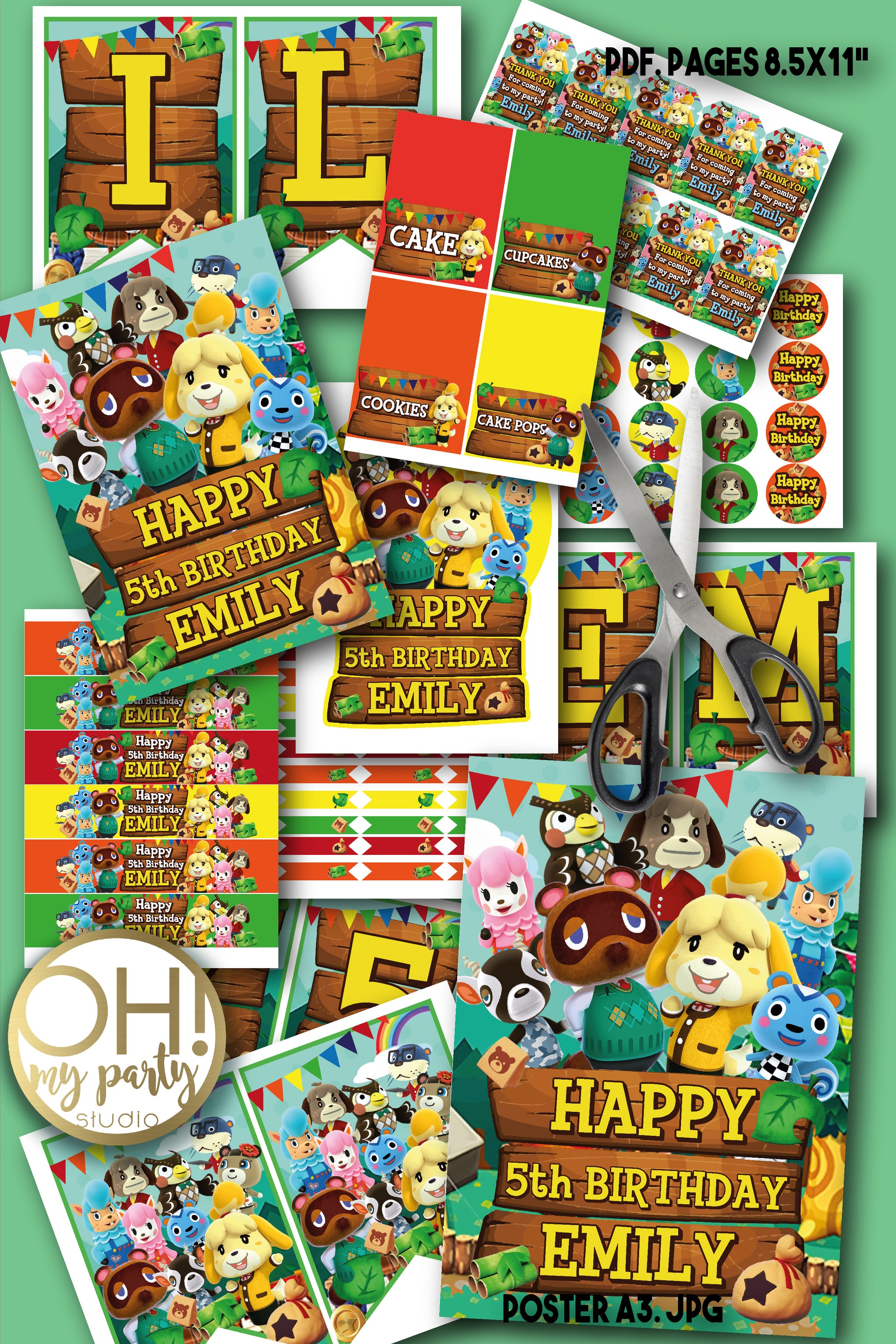 ANIMAL CROSSING PARTY SUPPLIES, ANIMAL CROSSING PARTY DECORATIONS, ANIMAL CROSSING PARTY IDEAS, ANIMAL CROSSING PARTY PRINTABLES, ANIMAL CROSSING CAKE, ANIMAL CROSSING CUPCAKE, ANIMAL CROSSING BANNER, ANIMAL CROSSING SING, ANIMAL CROSSING PARTY, ANIMAL CROSSING BIRTHDAY, ANIMAL CROSSING THANK YOU TAGS, ANIMAL CROSSING DECORATIONS, ANIMAL CROSSING FIESTA, ANIMAL CROSSING IMPRIBIBLES