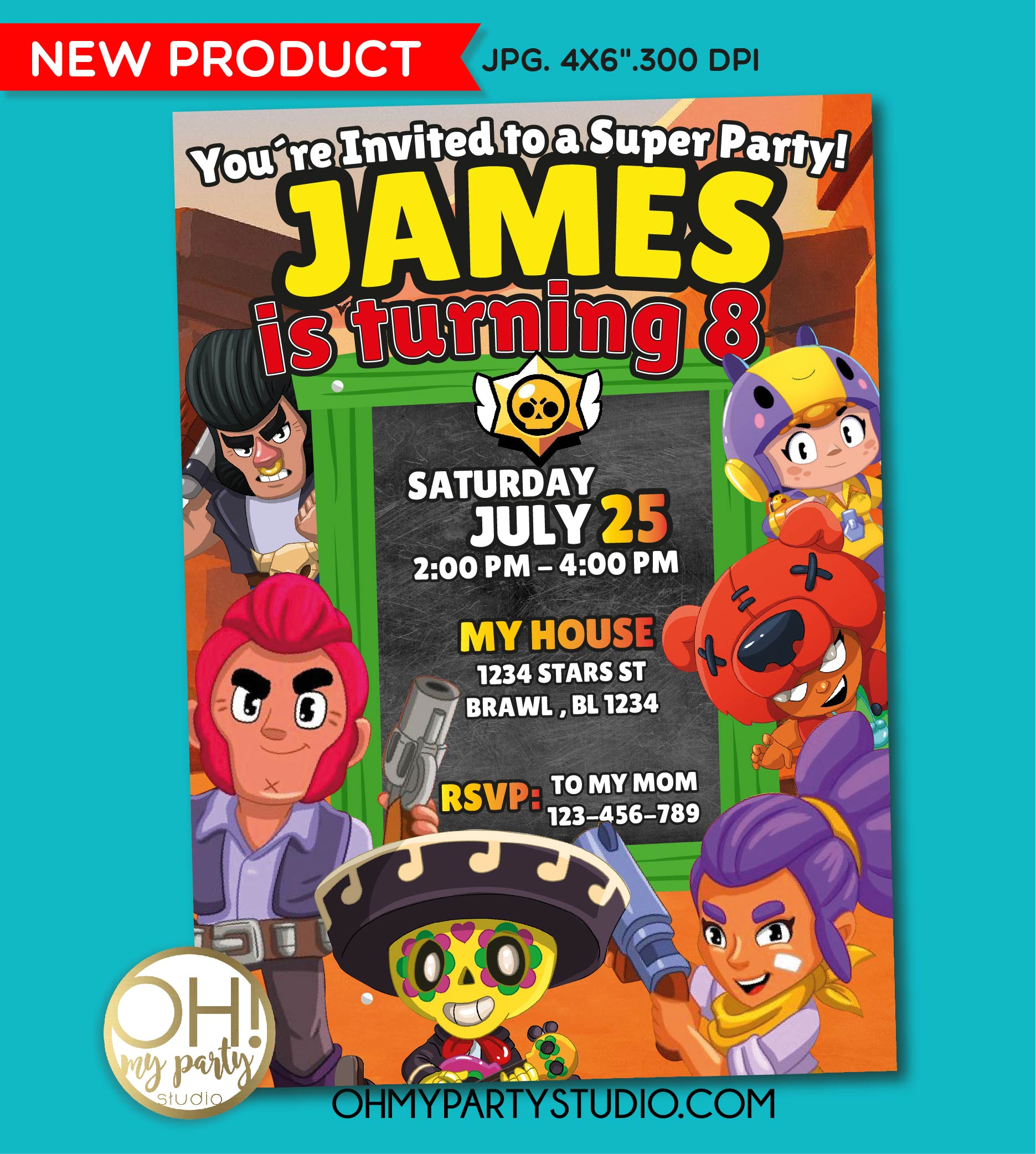 BRAWL STARS BIRTHDAY PARTY, BRAWL STARS PARTY SUPPLIES, BRAWL STARS PARTY DECORATIONS, BRAWL STARS INVITATION, BRAWL STARS INVITATIONS, BRAWL STARS INVITE, BRAWL STARS PARTY IDEAS, BRAWL STARS PARTY INVITATION, BRAWL STARS, PARTY SUPPLIES, BRAWL STARS DIGITAL INVITATION