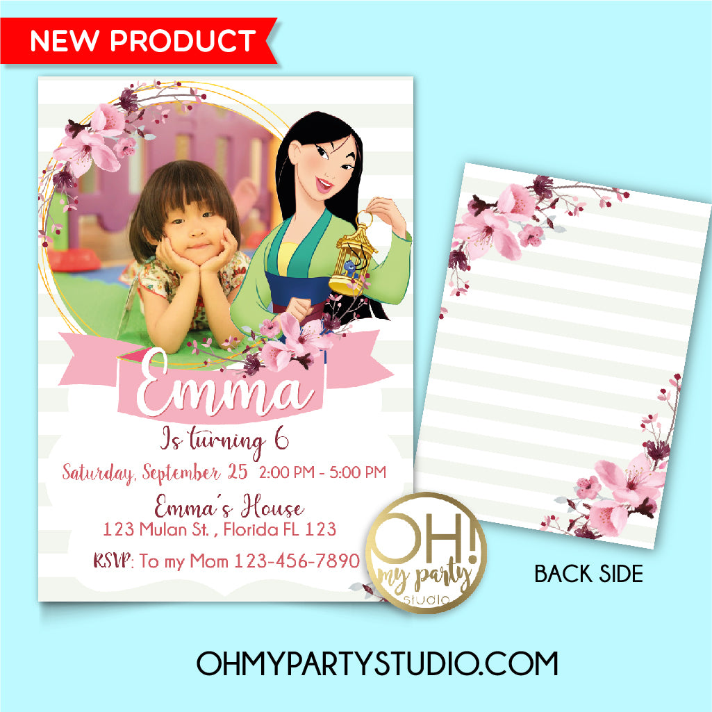 Mulan birthday party invitation, mulan 2020 invitation, mulan 2020 party, mulan invitation, mulan birthday, mulan party, mulan invite, mulan invitations, mulan digital invitation, mulan party ideas, mulan party decorations, mulan party supplies, mulan party printables, mulan card