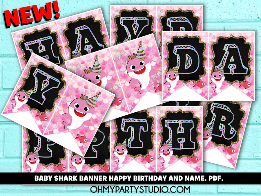 BABY SHARK BANNER WITH NAME, BABY SHARK BANNER, BABY SHARK PARTY DECORATIONS, BABY SHARK PARTY FOR GIRL, BABY SHARK BIRTHDAY GIRL, BABY SHARK PARTY IDEAS, BABY SHARK PARTY THEME, BABY SHARK PARTY, BABY SHARK BIRTHDAY, BABY SHARK PARTY SUPPLIES, BABY SHARK