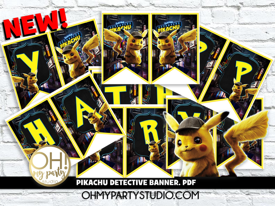 PIKACHU DETECTIVE BANNER INSTANT DOWNLOAD, PIKACHU DETECTIVE PARTY IDEAS, PIKACHU DETECTIVE BANNER, PIKACHU DETECTIVE DECORATIONS, PIKACHU DETECTIVE PARTY PRINTABLES, PIKACHU DETECTIVE PARTY SUPPLIES, PIKACHU DETECTIVE BIRTHDAY, PIKACHU DETECTIVE PARTY, PIKACHU DETECTIVE INVITATION, PIKACHU DETECTIVE INVITATIONS, PIKACHU DETECTIVE BIRTHDAY PARTY, PIKACHU DETECTIVE PARTY THEME, PIKACHU DETECTIVE PARTY DECORATIONS