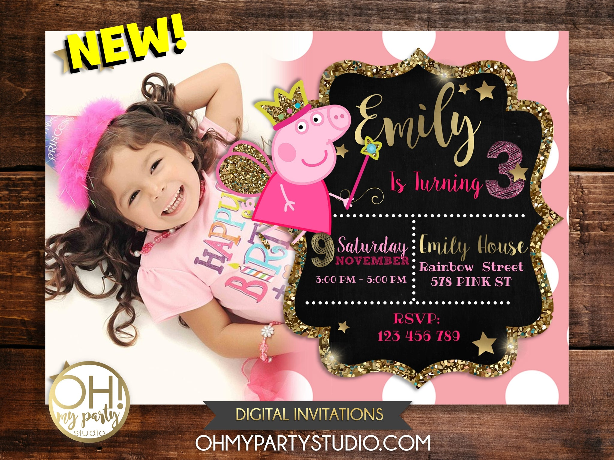 PEPPA PIG BIRTHDAY, PEPPA PIG PARTY, PEPPA PIG INVITATION, PEPPA PIG PRINTABLES, PEPPA PIG INVITATION DIGITAL, PEPPA PIG INVITATIONS, PEPPA PIG POOL PARTY, PEPPA PIG PARTY IDEAS, PEPPA PIG PARTY THEME