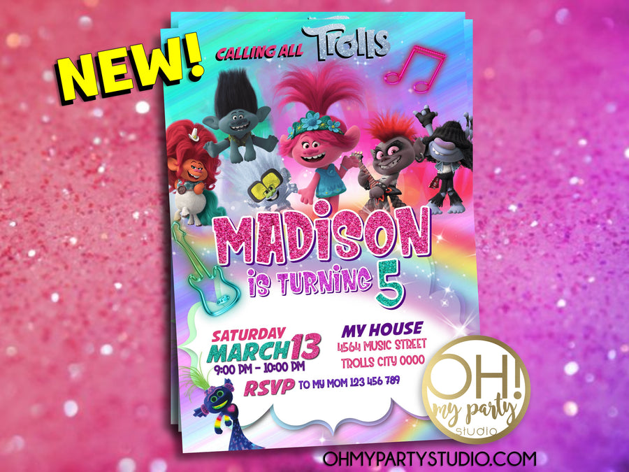 TROLLS 2 BIRTHDAY PARTY INVITATION, TROLLS 2 BIRTHDAY PARTY, TROLLS 2 INVITATION, TROLLS 2 INVITE, TROLLS WORLD TOUR INVITATION, TROLLS WORLD TOUR INVITATIONS, TROLLS WORLD TOUR BIRTHDAY PARTY, TROLLS 2 PARTY IDEAS, TROLLS 2 DIGITAL INVITATION, TROLLS 2 PARTY PRINTABLES, TROLLS 2 PARTY DECORATIONS, TROLLS 2 CARD, TROLLS 2 INVITATIONS, TROLLS 2 INVITACIÓN, TROLLS 2 INVITACION, TROLLS 2 FIESTA, TROLLS 2 CUMPLEAÑOS
