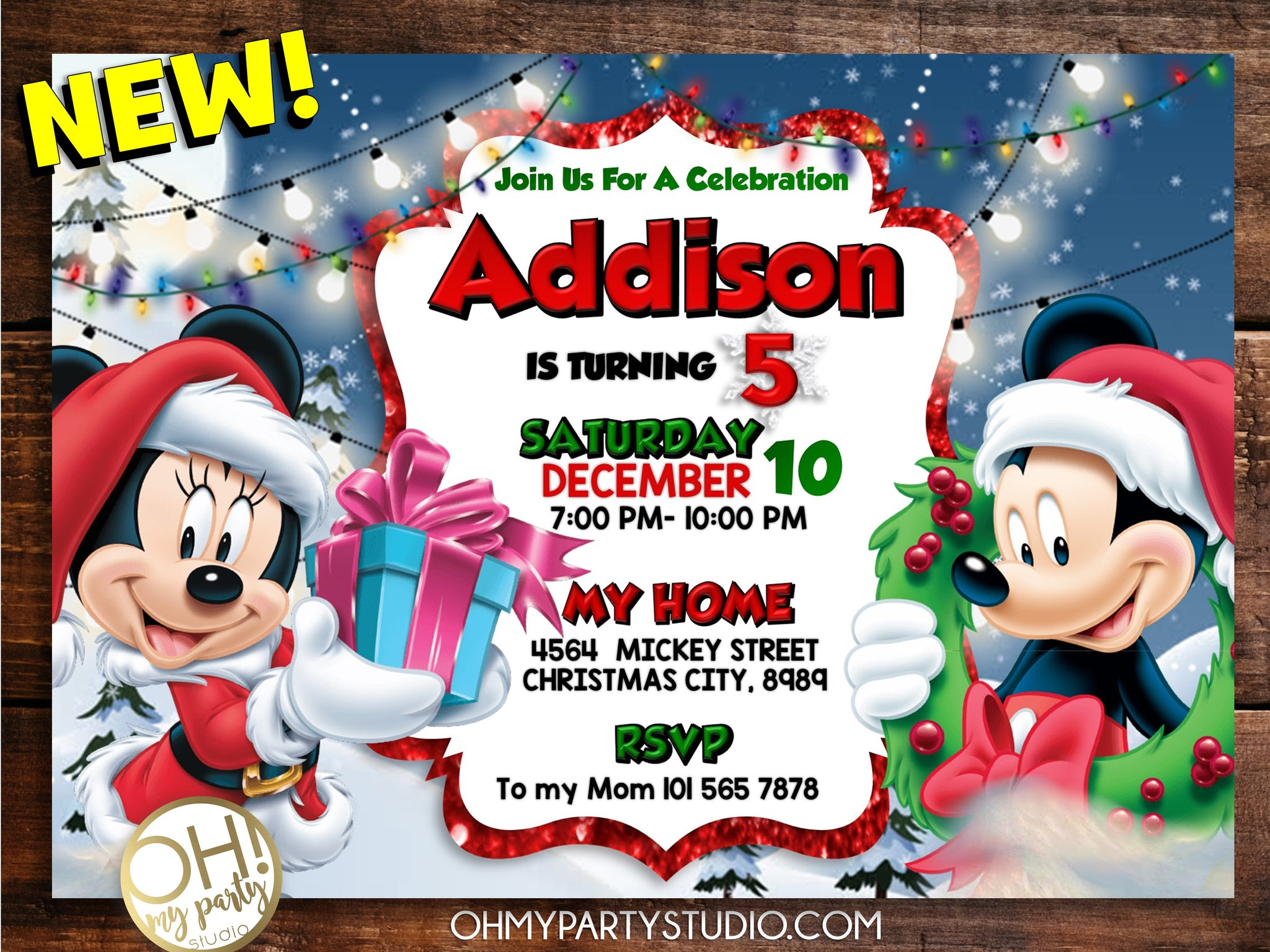 MICKEY MOUSE CHRISTMAS INVITATION, MINNIE MOUSE CHRISTMAS INVITATION, MICKEY AND MINNIE CHRISTMAS INVITATION, MICKEY CHRISTMAS BIRTHDAY INVITATION, MINNIE CHRISTMAS BIRTHDAY INVITATION, MICKEY MOUSE CHRISTMAS PARTY, MICKEY CHRISTMAS PARTY, MICKEY CHRISTMAS BIRTHDAY, MINNIE CHRISTMAS PARTY, MINNIE CHRISTMAS BIRTHDAY, MICKEY CHRISTMAS PARTY IDEAS