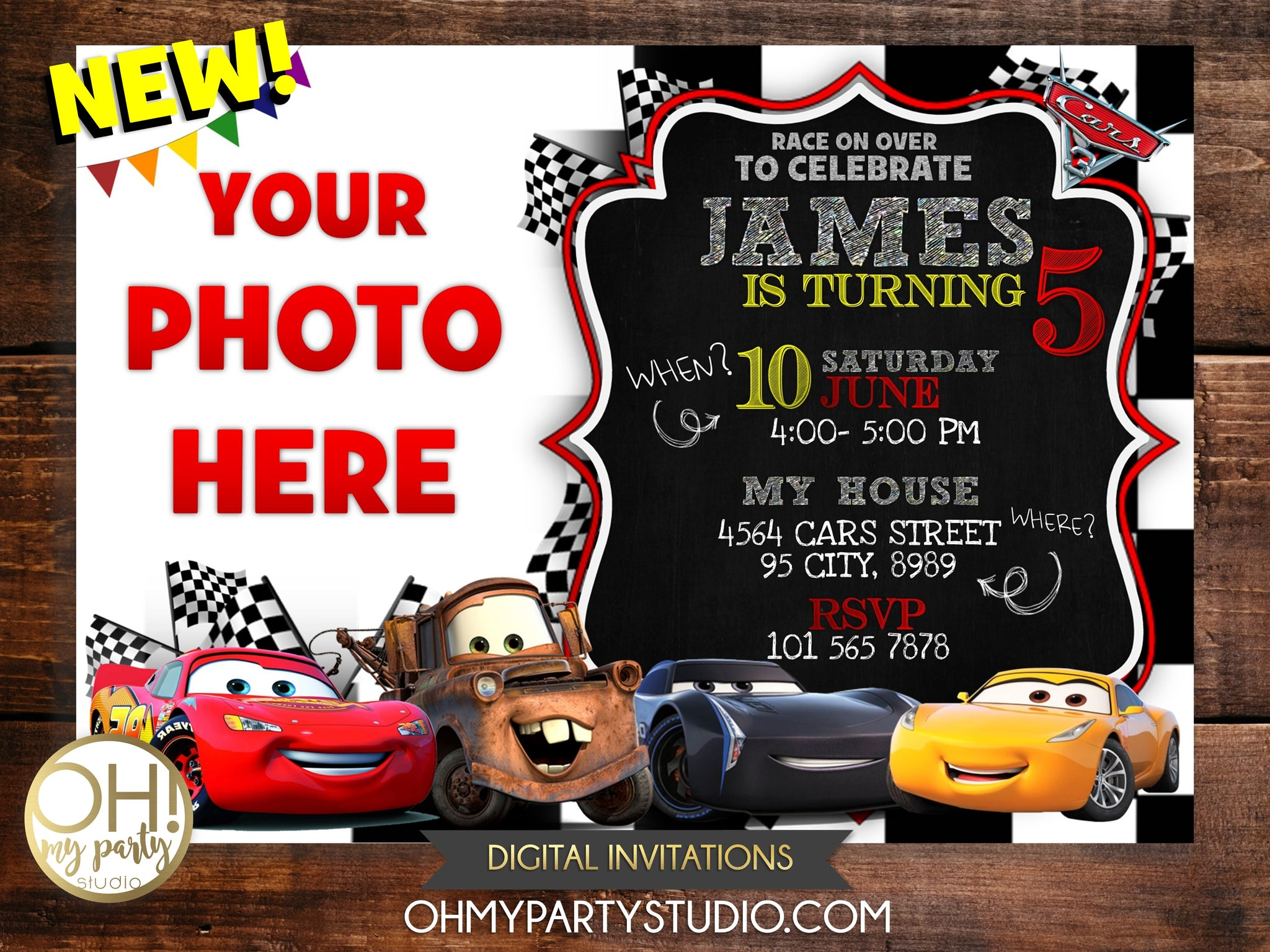 CARS BIRTHDAY PARTY, CARS INVITATION, CARS INVITATIONS, CARS PARTY, CARS PARTY INVITATION, CARS PRINTABLE, CARS INVITATION DIGITAL