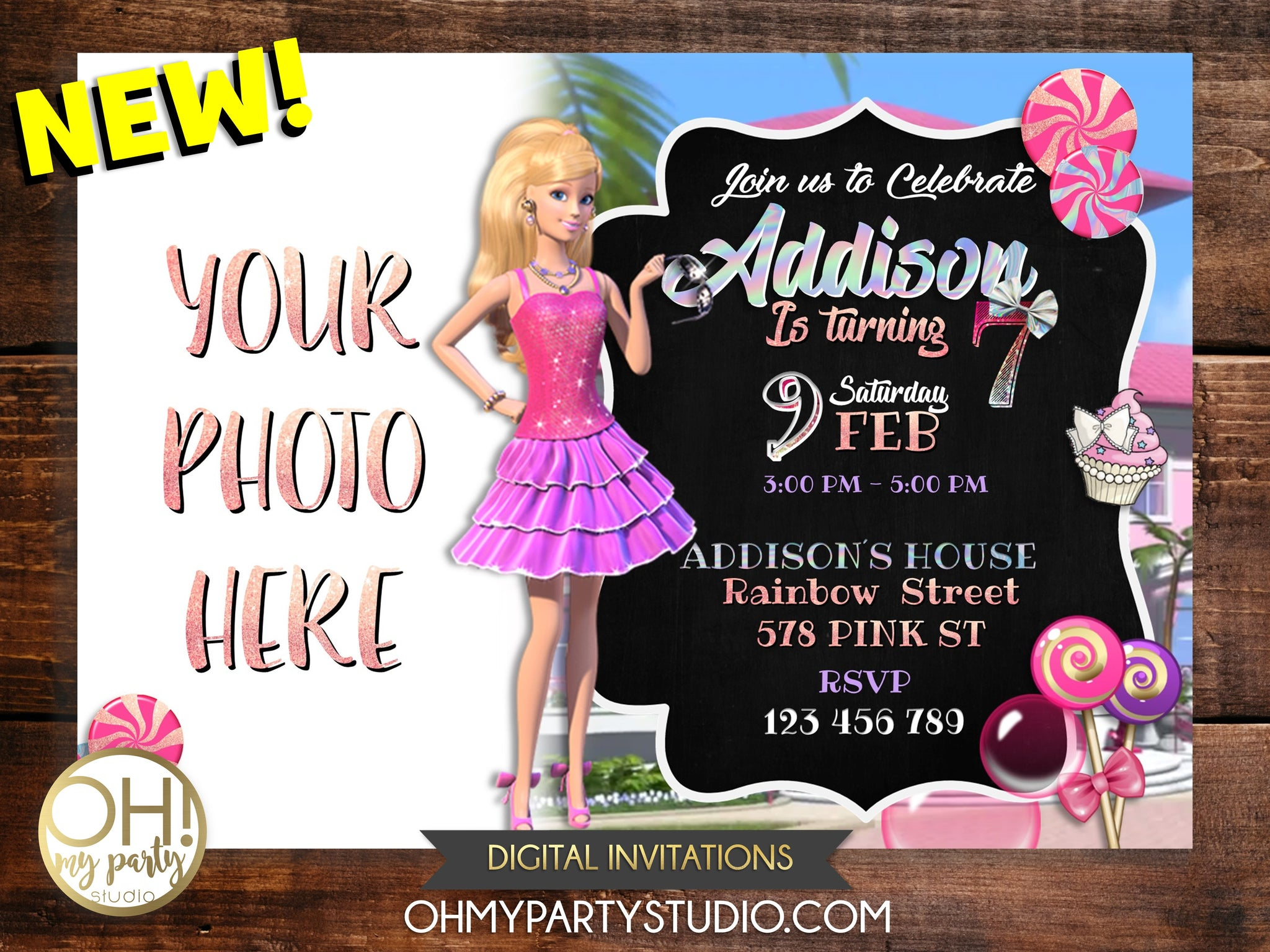 BARBIE BIRTHDAY INVITATION, BARBIE INVITATION DIGITAL, BARBIE INVITE, BARBIE CARD, BARBIE PARTY BARBIE BIRTHDAY, BARBIE INVITATIONS, BARBIE INVITATION, BARBIE PARTY THEME, BARBIE PARTY IDEAS, BARBIE INVITACION, BARBIE INVITE, BARBIE PRINTABLES, BARBIE PARTY PRINTABLES