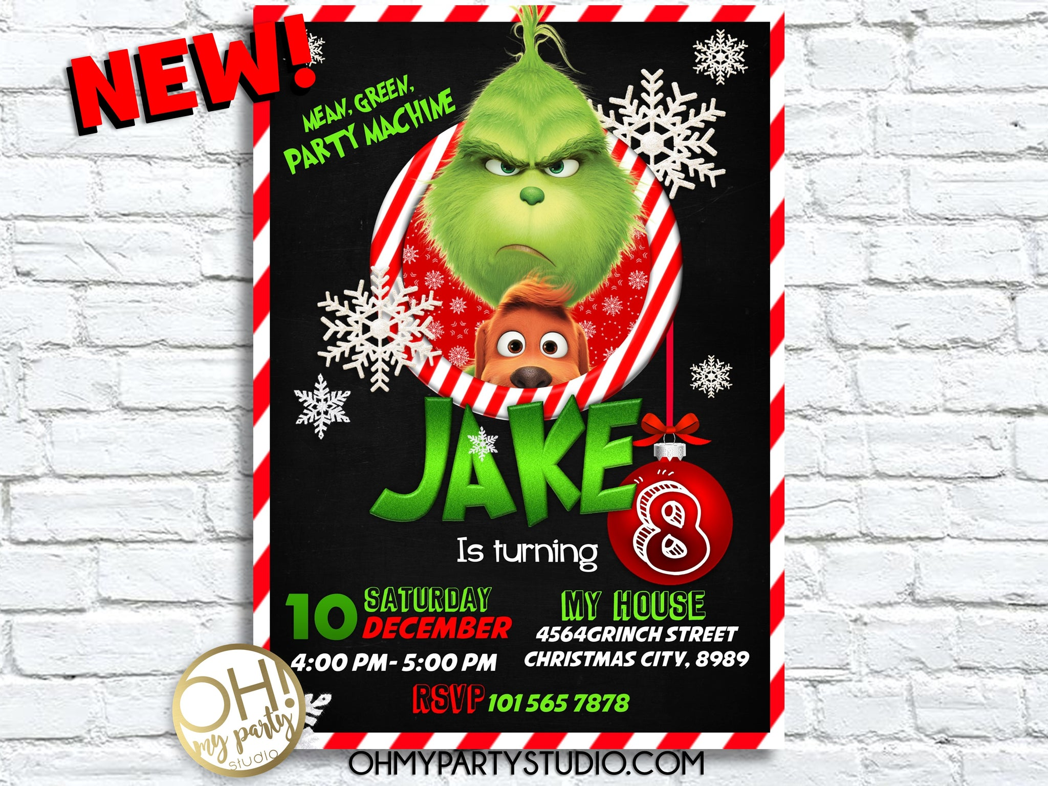 GRINCH BIRTHDAY PARTY, GRINCH INVITATION, GRINCH INVITATIONS, GRINCH PARTY PRINTABLES, GRINCH DECORATIONS, GRINCH INVITE, GRINCH CARD, GRINCH CHRISTMAS PARTY, GRINCH PARTY IDEAS, GRINCH INVITACIÓN, GRINCH FIESTA, GRINCH BIRTHDAY PARTY IDEAS