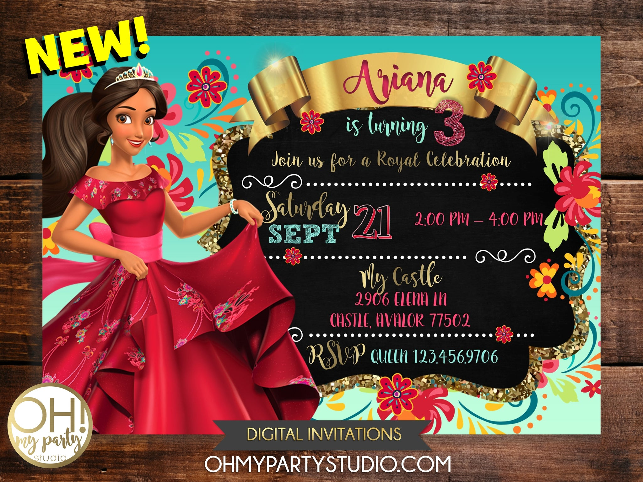 ELENA OF AVALOR BIRTHDAY PARTY, ELENA OF AVALOR INVITATIONS,ELENA OF AVALOR INVITATION, ELENA OF AVALOR BIRTHDAY INVITATIONS, ELENA OF AVALOR INVITATION DIGITAL, ELENA OF AVALOR PARTY THEME, ELENA OF AVALOR PARTY IDEAS