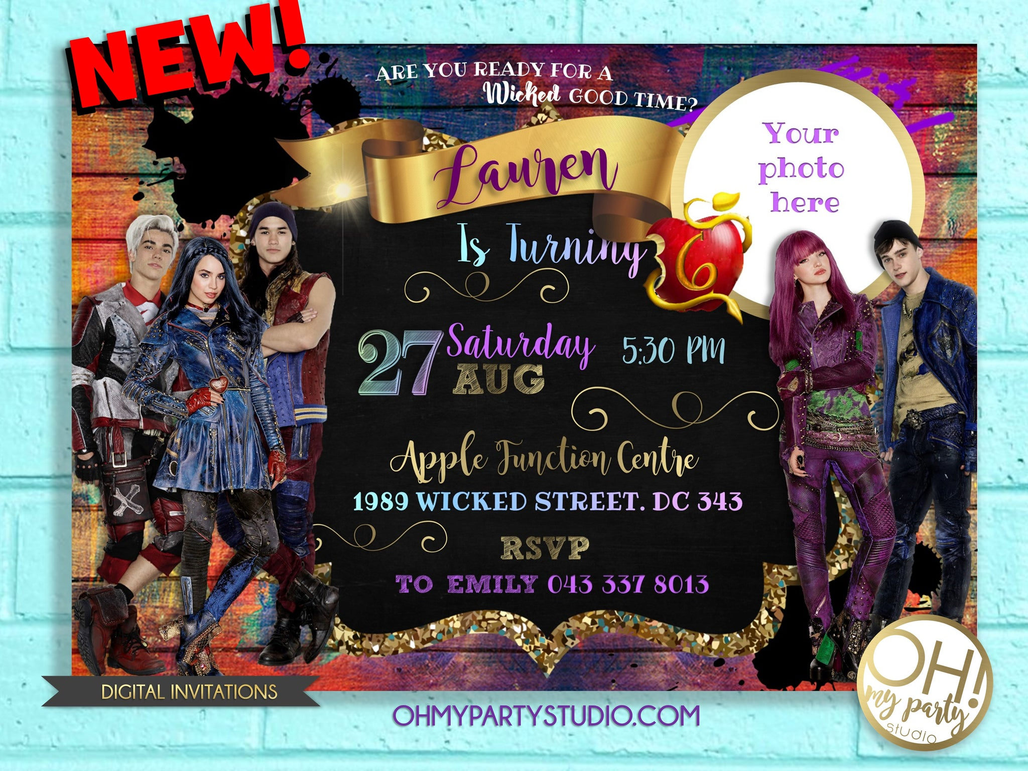 DESCENDANTS DISNEY PARTY, DESCENDANTS 3 INVITATIONS, DESCENDANTS 3 INVITATION, DESCENDANTS DISNEY INVITATIONS, DESCENDANTS DISNEY INVITATION, DESCENDANTS DISNEY, DESCENDANTS ,DESCENDANTS INVITE ,DESCENDANTS INVITATIONS, DESCENDANTS BIRTHDAY PARTY, DESCENDANTS INVITATION