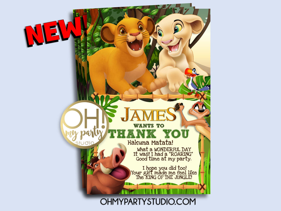 THE LION KING BIRTHDAY, LION KING PARTY IDEAS, LION KING THANK YOU CARD, LION KING PARTY PRINTABLES, LION KING THANK YOU, LION KING FAVORS, LION KING PARTY, LION KING PARTY DECORATIONS, SIMBA THANK YOU CARD, SIMBA PARTY, SIMBA AND NALA PARTY, SIMBA BIRTHDAY, LION KING SIMBA PARTY, LION KING BIRTHDAY PARTY, LION KING INVITATION, LION KING INVITE, LION KING BIRTHDAY INVITATION, LION KING INVITATIONS