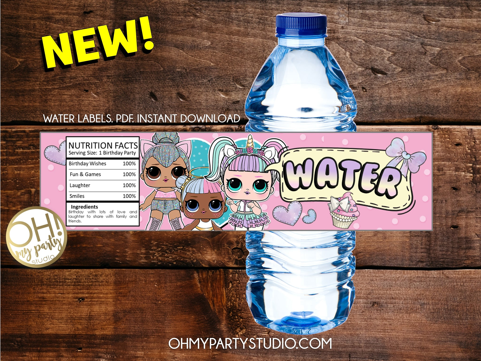 LOL SURPRISE WATER LABELS, LOL SURPRISE PRINTABLES, LOL DOLLS WATER LABELS, LOL DOLLS PRINTABLES, LOL SURPRISE PARTY IDEAS, LOL SURPRISE PARTY THEME, LOL DOLLS PARTY IDEAS, LOL DOLLS DECORATIONS, LOL DOLLS PARTY SUPPLIES, LOL DOLL2 PARTY PRINTABLES, LOL SURPRISE PARTY, LOL SURPRISE BIRTHDAY, LOL SURPRISE PARTY PRINTABLES