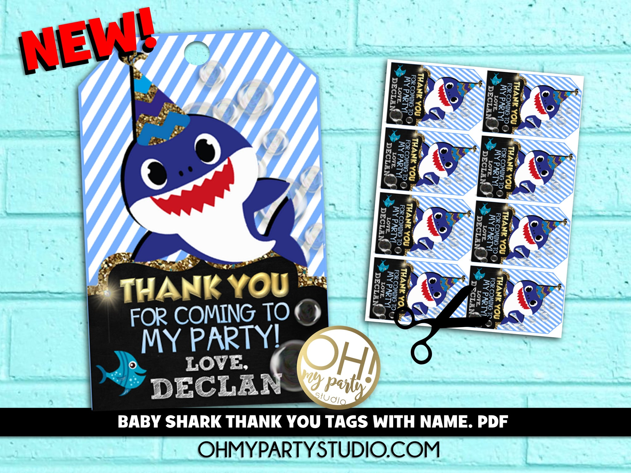 BABY SHARK THANK YOU TAGS PERSONALIZED, BABY SHARK THANK YOU TAGS WITH NAME, THANK YOU TAGS BABY SHARK, BABY SHARK BIRTHDAY BOY, BABY SHARK FAVORS, BABY SHARK PARTY IDEAS, BABY SHARK PARTY THEME, BABY SHARK PARTY DECORATIONS, BABY SHARK THANK YOU TAGS, BABY SHARK BIRTHDAY BOY