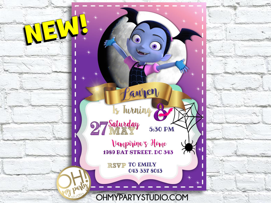 VAMPIRINA BIRTHDAY PARTY, VAMPIRINA BIRTHDAY INVITATION, VAMPIRINA INVITATIONS, VAMPIRINA INVITATION, VAMPIRINA PARTY IDEAS, VAMPIRINA DIGITAL INVITATION, VAMPIRINA PARTY, VAMPIRINA BIRTHDAY, VAMPIRINA DECORATION, VAMPIRINA PARTY PRINTABLES, VAMPIRINA INVITATIONS