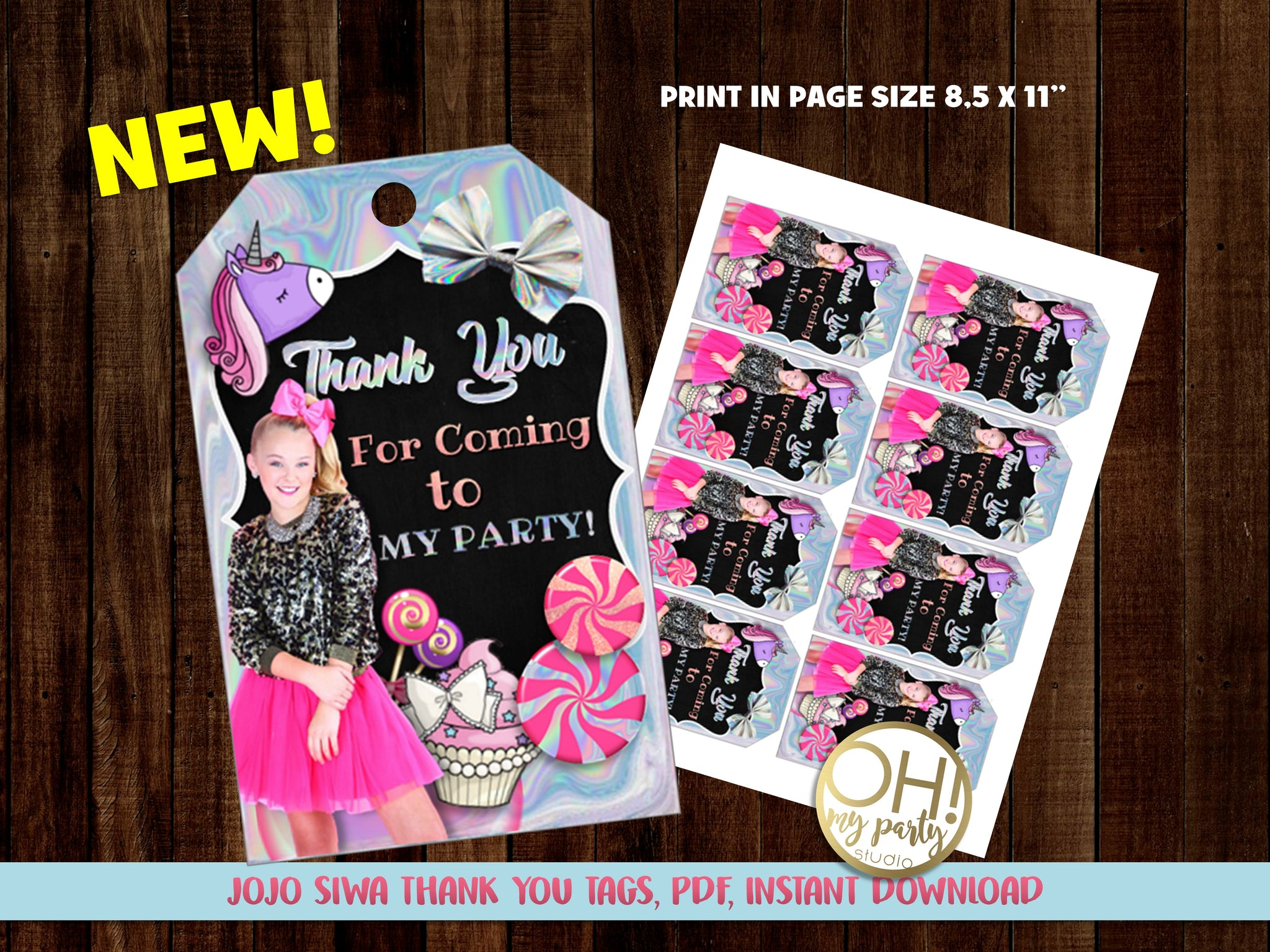 JOJO SIWA PARTY PRINTABLES, JOJO SIWA DECORATIONS, JOJO SIWA THANK YOU TAGS, JOJO SIWA BANNER, JOJO SIWA CUPCAKES, JOJO SIWA CENTERPIECES, JOJO SIWA CAKE TOPPER, JOJO SIWA PARTY THEME, JOJO SIWA PARTY IDEAS, JOJO SIWA BIRTHDAY,JOJO SIWA INVITATION, JOJO SIWA BIRTHDAY INVITATION, JOJO SIWA INVITATIONS