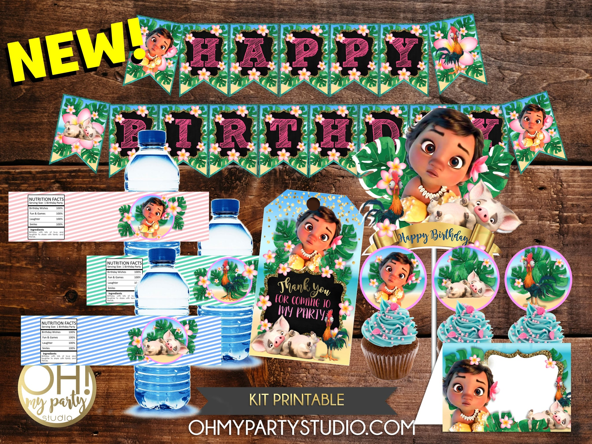 MOANA BABY KIT PRINTABLE, MOANA BABY PACKAGE PRINTABLE, MOANA BABY BIRTHDAY PARTY, MOANA BABY DECORATIONS, MOANA BABY INSTANT DOWNLOAD DECORATIONS FOR PARTY,MOANA BABY BANNER, MOANA POOL PARTY, MOANA THANK YOU TAGS, MOANA DECORATIONS, MOANA PRINTABLE, MOANA INVITATION, MOANA POOL PARTY INVITATION