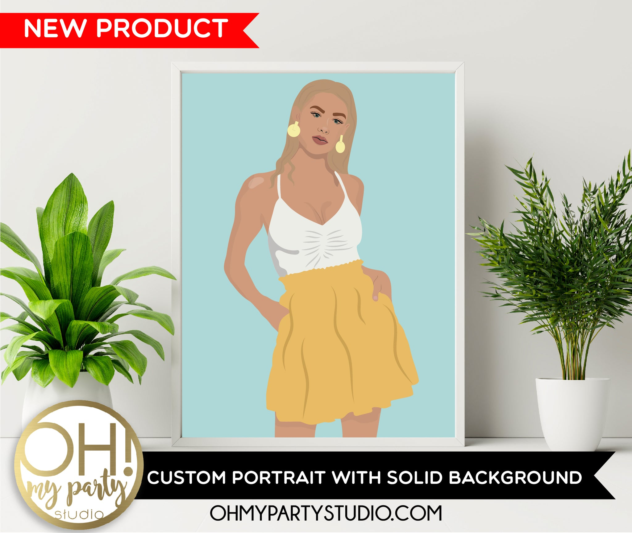 Custom portrait illustration, personalised portrait, photo portrait, digital portrait, custom drawing, couple portrait, Custom Portrait with Solid Background, PRINTABLE Art, Portrait Illustration, Digital Illustration, DIGITAL FILE, FASHION ILLUSTRATION, FASHION ILLUSTRATOR