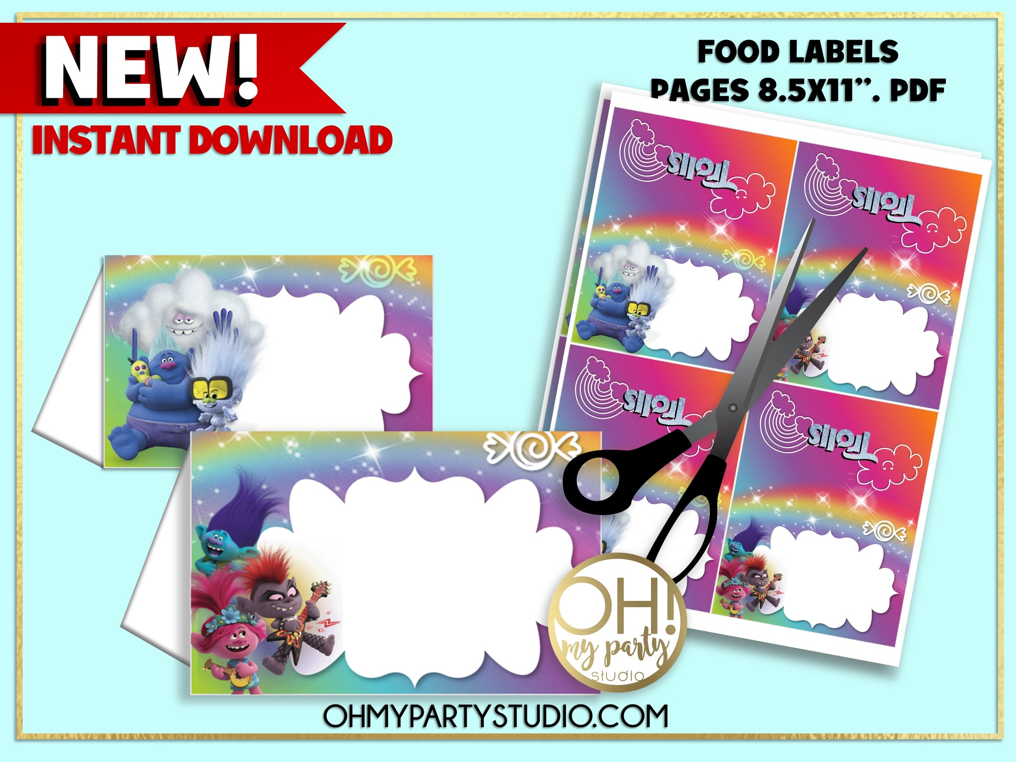 TROLLS 2 FOOD LABELS. TROLLS 2 PARTY PRINTABLES, TROLLS 2 INSTANT DOWNLOAD, TROLLS 2 PARTY SUPPLIES, TROLLS 2 PARTY, TROLLS 2 BIRTHDAY, TROLLS 2 PARTY IDEAS, TROLLS WORLD TOUR PARTY, TROLLS WORLS TOUR BIRTHDAY, TROLLS WORLD TOUR PARTY PRINTABLES, TROLLS WORLD TOUR PARTY SUPPLIES, TROLLS WORLD TOUR PARTY IDEAS, TROLLS WORLD TOUR FOOD LABELS