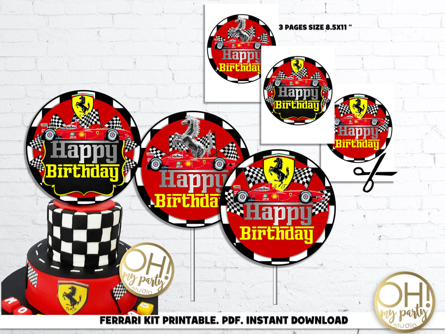 FERRARI PARTY DECORATIONS, FERRARI PARTY IDEAS, FERRARI BIRTHDAY, FERRARI PARTY, FERRARI BIRTHDAY PARTY, FERRARI PARTY PRINTABLES, FERRARI PARTY DECORATION, FERRARI CUPCAKE TOPPERS, FERRARI THANK YOU TAGS, FERRARI BANNER, FERRARI INSTANT DOWNLOAD, FERRARI PARTY PRINTABLES