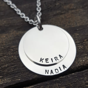 Stacker Pendant - Duo Medium