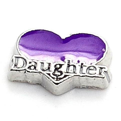 Daughter Heart - Purple