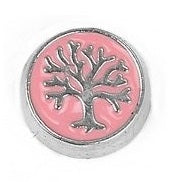 Family Tree Disk - Pink