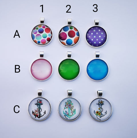 Glass Dome Pendants #1